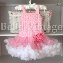 Coconut Ice Belle Tutu Dress